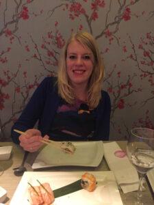 Elianne uit eten 2