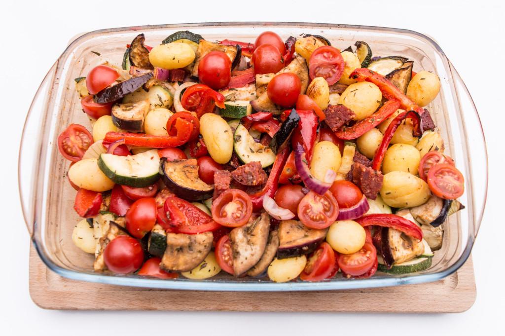 Spaanse ovenschotel met Chorizo