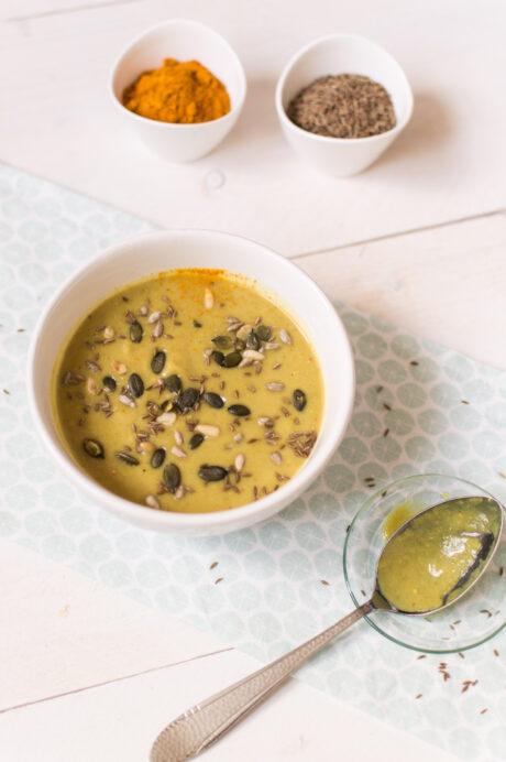 Indiase Bloemkool soep