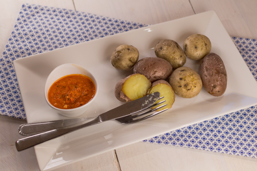Patates con mojo