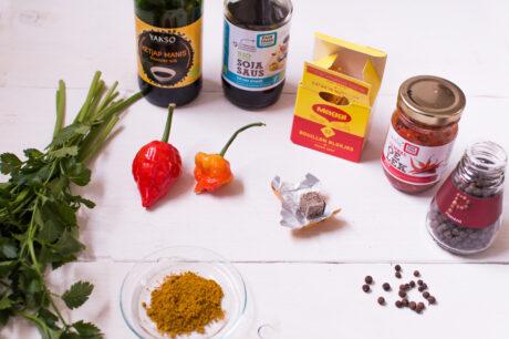 Suriname ingrediënten