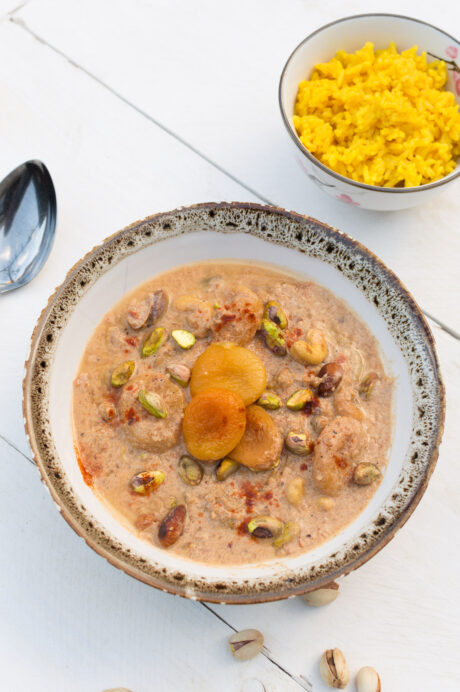 Curry met gedroogd fruit en noten 2