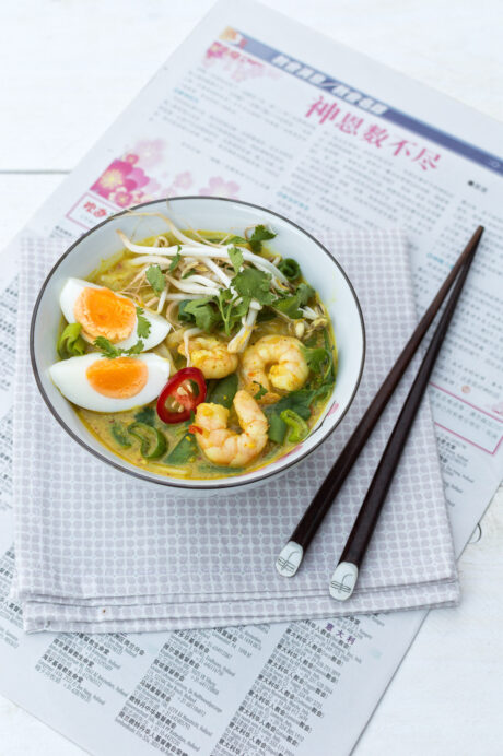 Laksa curry soep 2