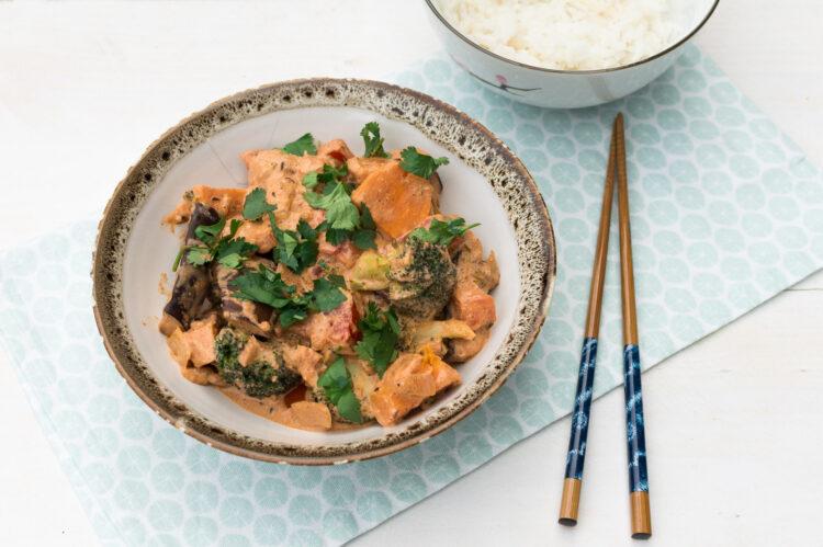 Tikka Masala met groenten