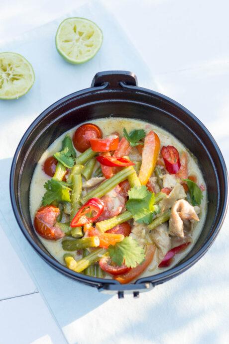 Groene curry Knorr 2